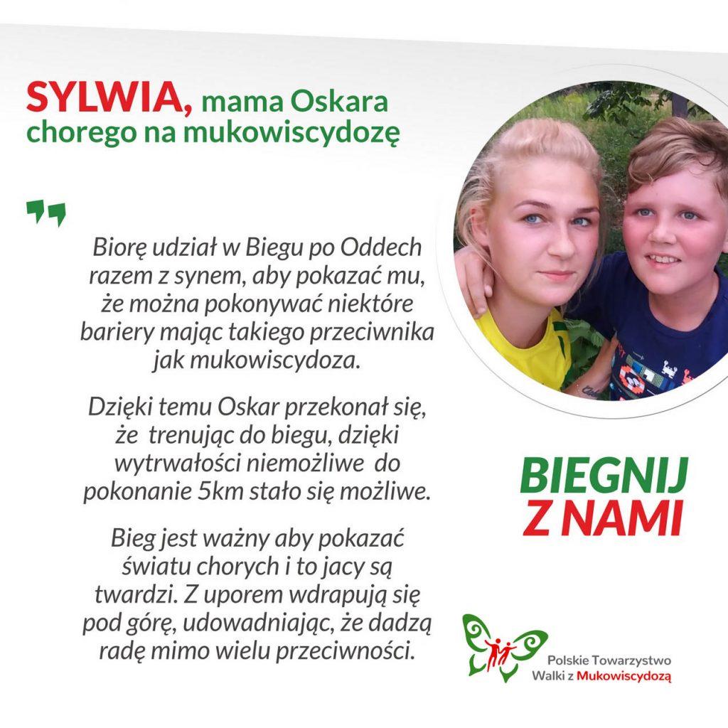 Sylwia, mama