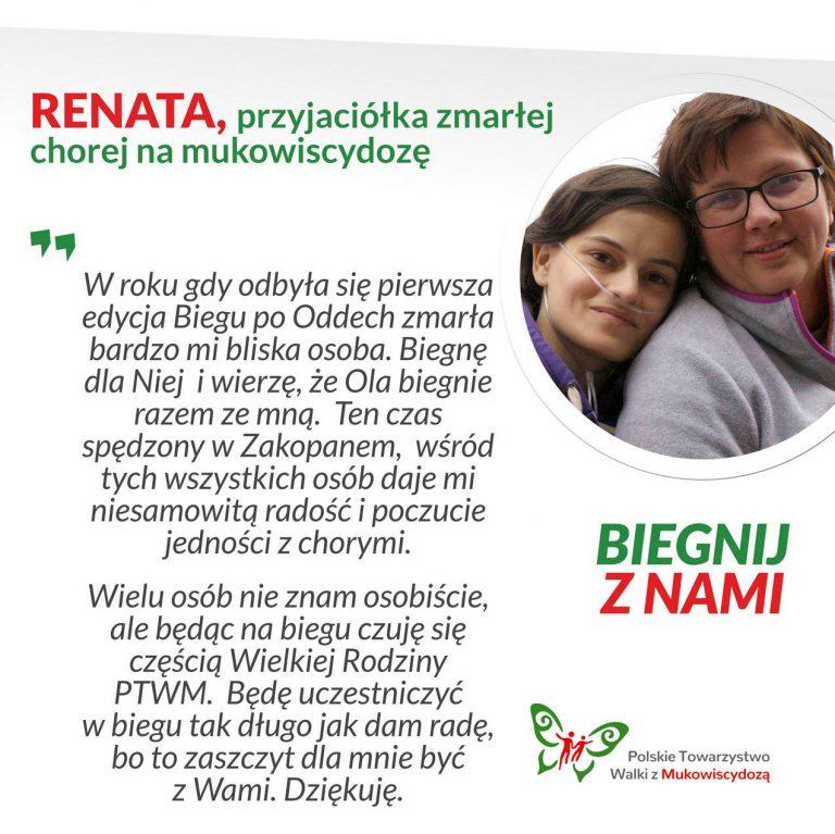 Renata, przyjaciółka zmarłej