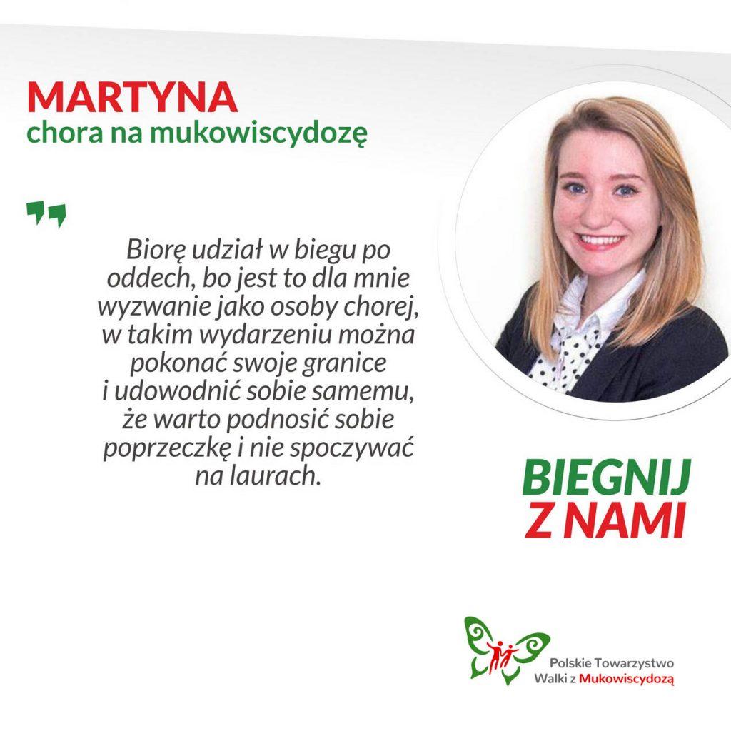 Martyna, chora na mukowiscydozę