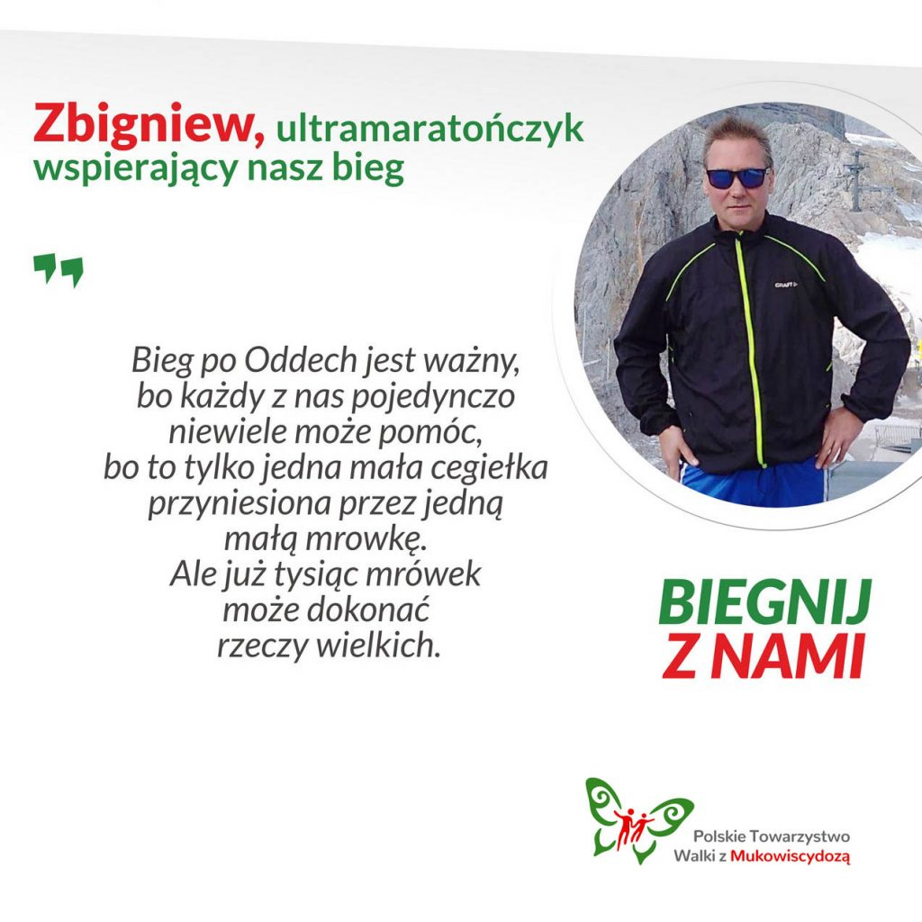 Zbigniew, ultra maratończyk