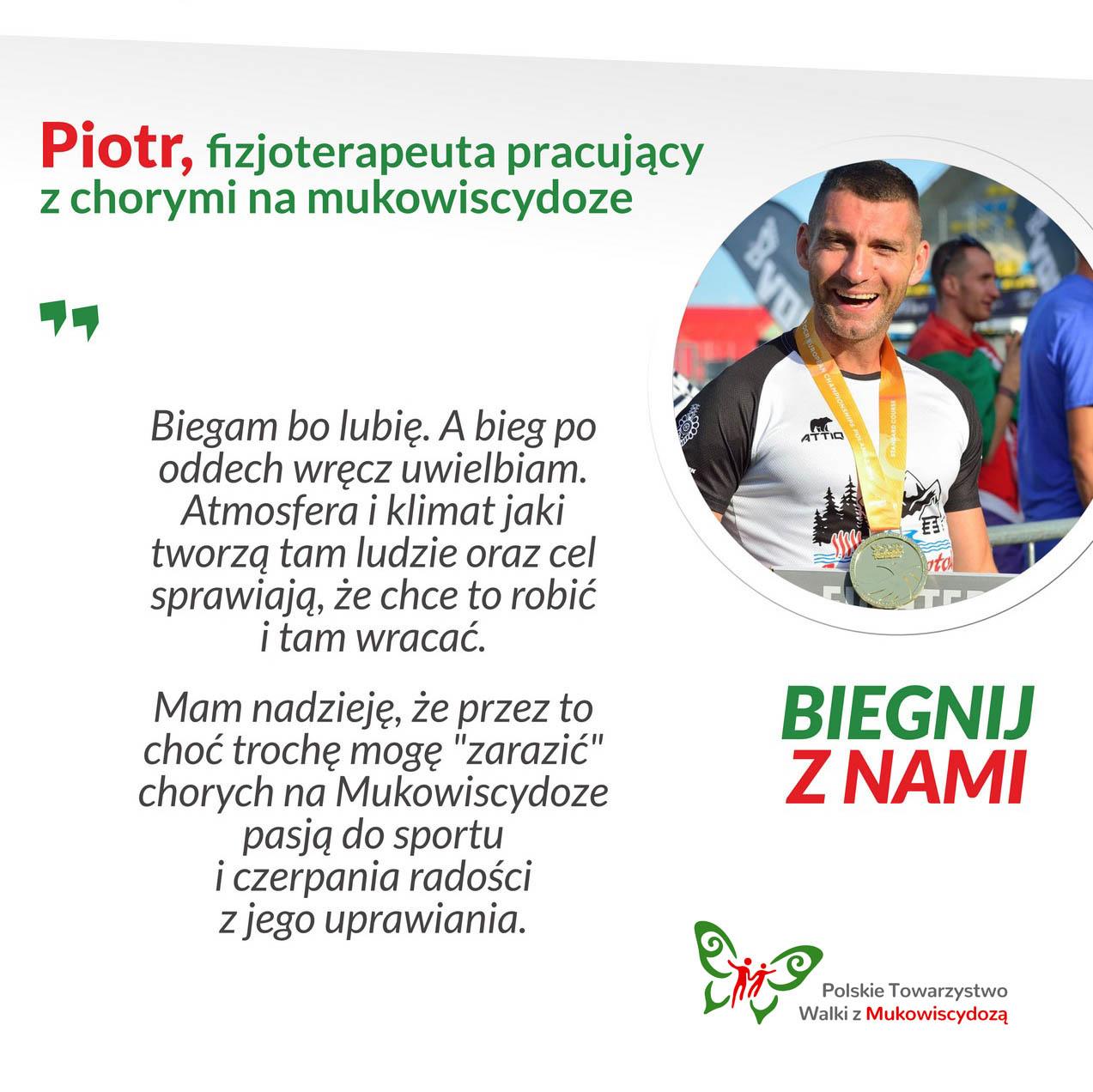 Piotr, fizjoterapeuta