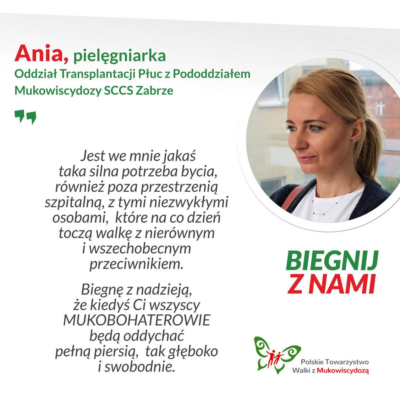 Ania, pielęgniarka