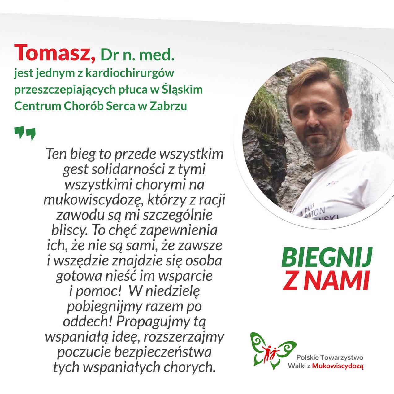 Tomasz, Dr n. med